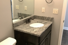 Guest Bath-Granite top